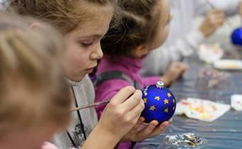 Школьная экскурсия в химки елочные игружки