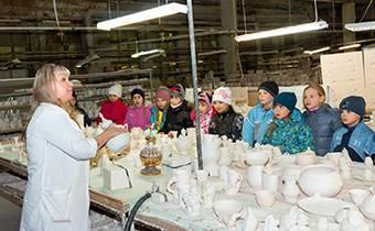школьные экскурсии на фарфоровый завод