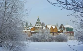 Русская зима в Коломенском