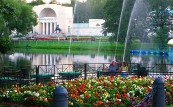 Путешествие на пароме в Кузьминках