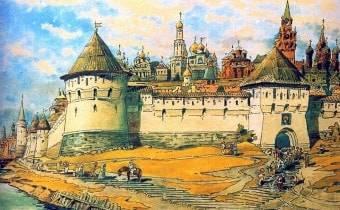 История Москвы средневековой